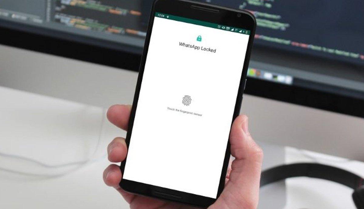 Near the WhatsApp web 'fingerprint' login | Dharti News