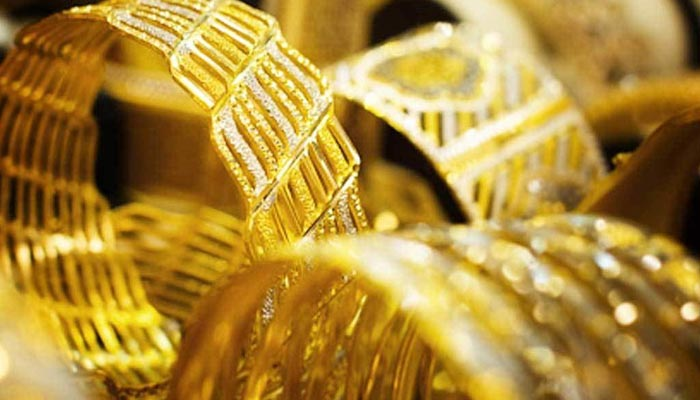 Gold prices fell