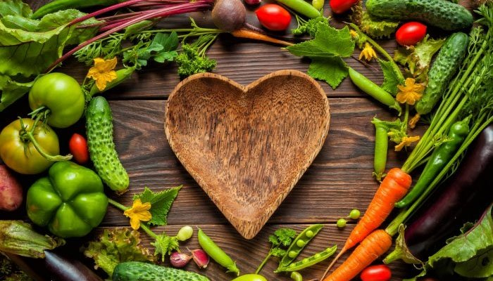 Which 6 vegetables to eat for a healthy heart?
