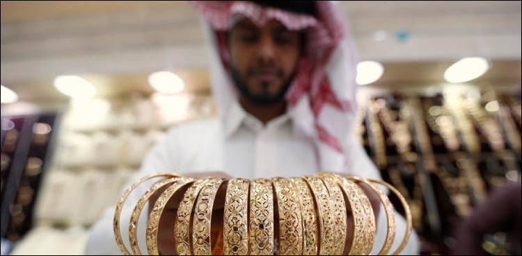 Gold price rises in Saudi Arabia   Dharti News
