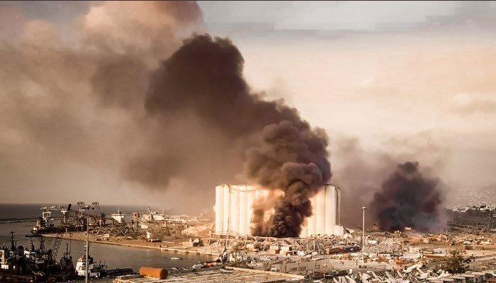 'دھماکے میں گندم کا بڑا ذخیرہ تباہ، لبنان کو غذائی قلت کا سامنا کرنا پڑ سکتا ہے'