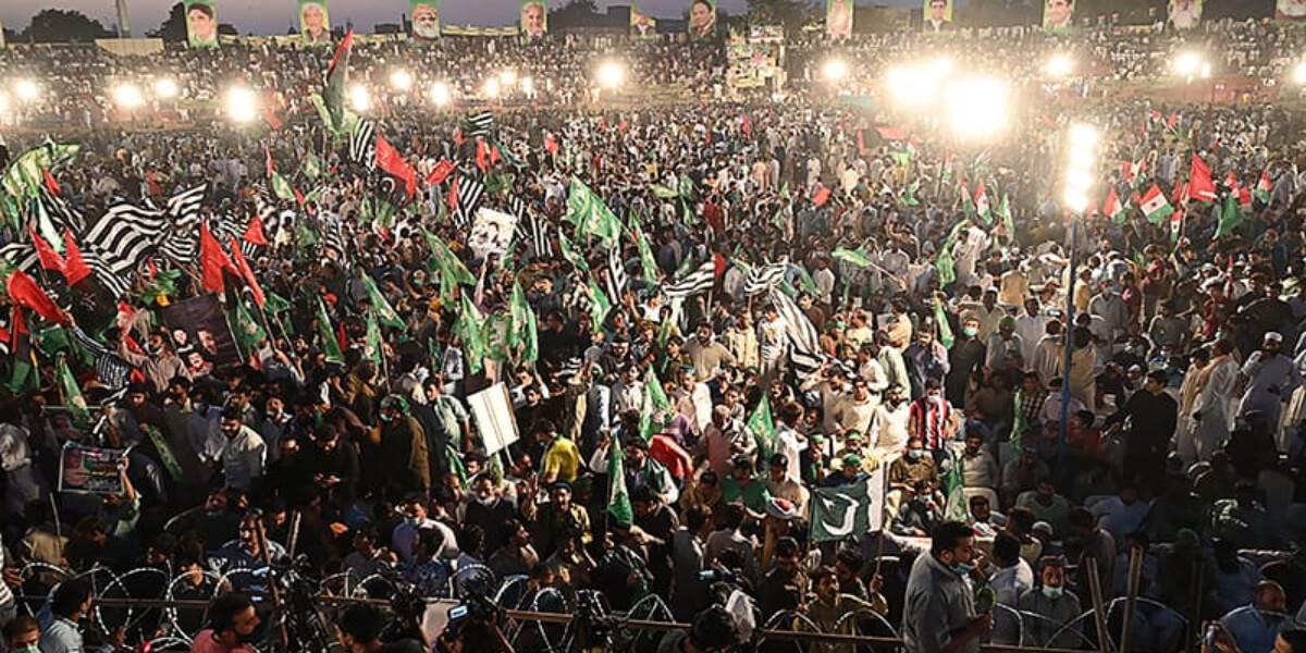 پی ڈی ایم، پہلے مرحلے کا آخری جلسہ آج مینار پاکستان گراؤنڈ میں ہوگا