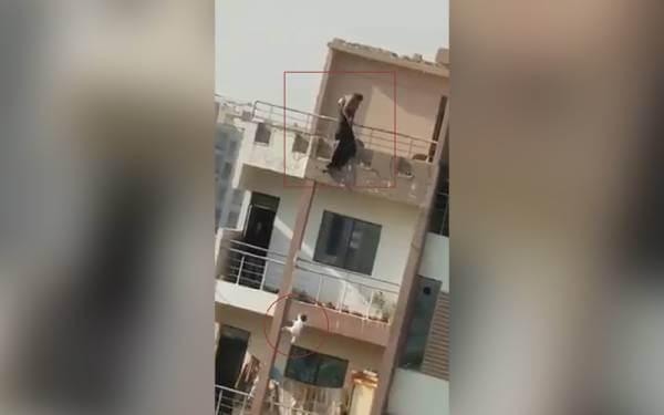 بچی کو عمارت سے پھینک کر خودکشی کی کوشش کرنے والی ماں کا پہلا بیان سامنے آ گیا