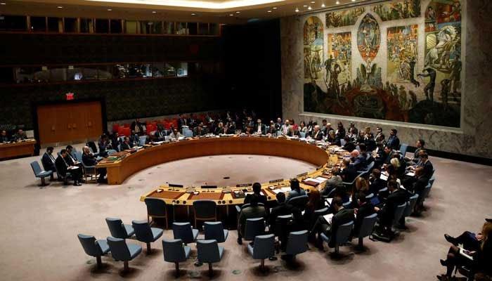 مقبوضہ کشمیر کی کشیدہ صورت حال اور لائن آف کنٹرول پر اشتعال انگیزی کے حوالے سے اقوام متحدہ کی سلامتی کونسل کا اجلاس آج ہو گا۔