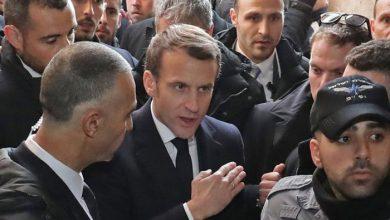 Photo of فرانسیسی صدر مقبوضہ بیت المقدس کے گرجا گھر میں اسرائیلی فورسز کو دیکھ کر برہم